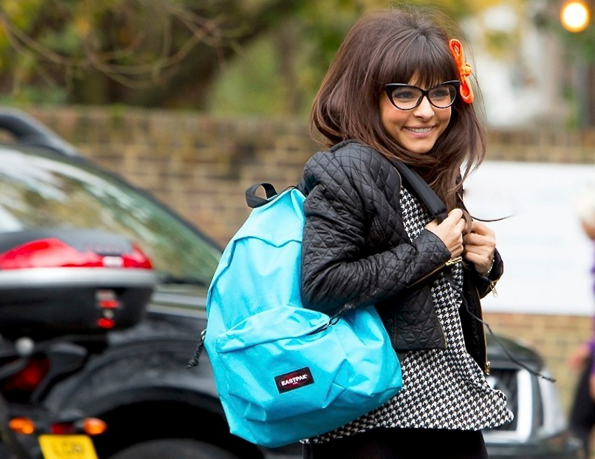 Roxanne Pallett cropped glasses