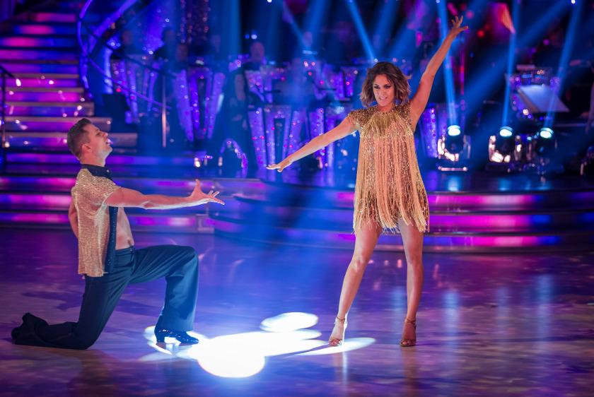 Caroline Flack Strictly dancing web