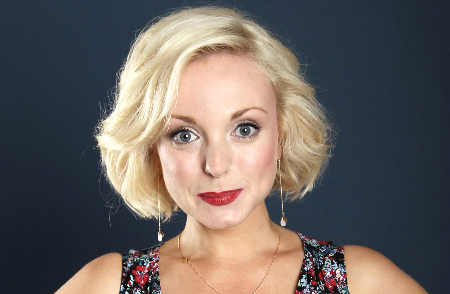 Helen George Front Page web